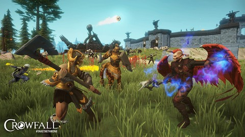 Crowfall - Crowfall lance officiellement son alpha-test