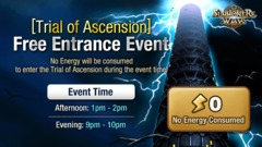 Tribunal d'Ascension : Entrée gratuite