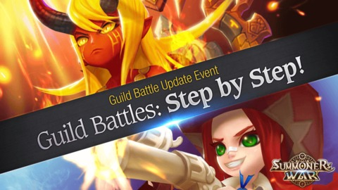 Summoners War - Célébration du patch Combat de Guilde
