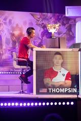 Thompsin très concentré sur son premier match