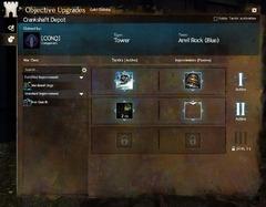 Améliorations de guilde des objectifs