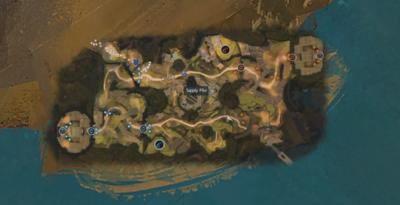 Carte du mode Bastion