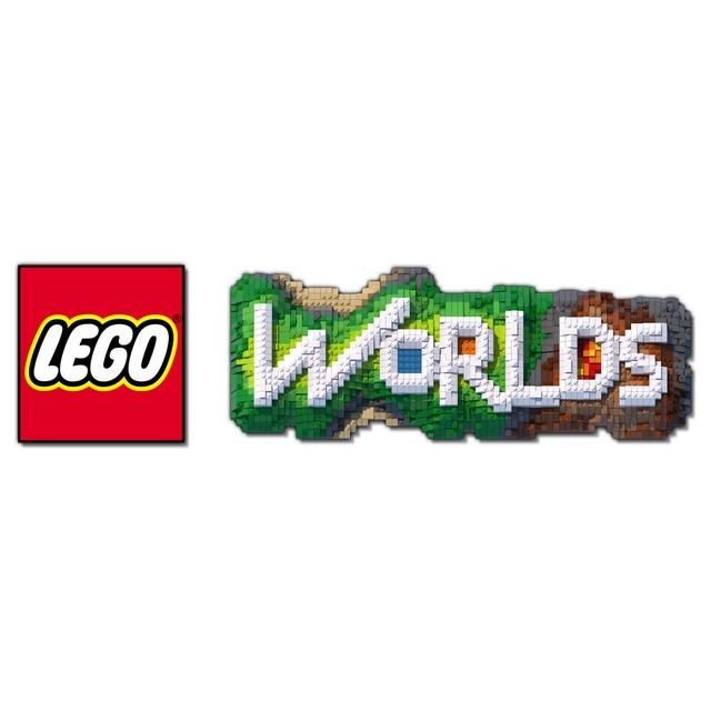Logo de LEGO Worlds