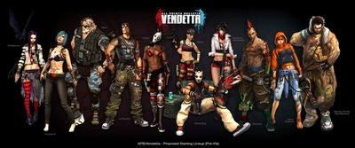 Personnages d'APB Vendetta