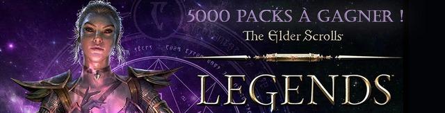Distribution : 5000 packs Elder Scrolls Legends à gagner