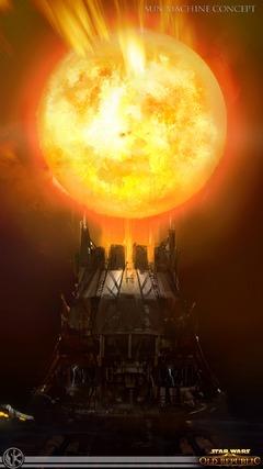 Concept Art de Knights of the Fallen Empire - Machine Solaire