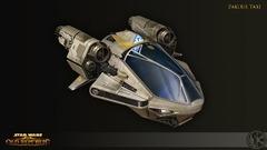 Concept Art de Knights of the Fallen Empire - Taxi de Zakuul