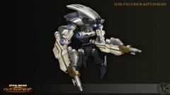 Concept Art de Knights of the Fallen Empire - Droid de Combat