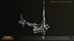 Concept Art de Knights of the Fallen Empire - Croiseur de la Flotte Eternelle
