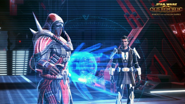 Capture d'écran de Knights of the Fallen Empire