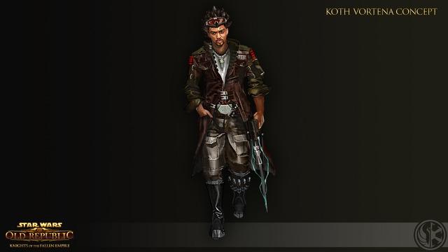 Concept art de Knights of the Fallen Empire - Koth Vortena