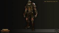 Concept Art de Knights of the Fallen Empire - Skytrooper