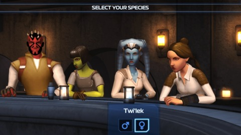 Star Wars Insurrection - Star Wars Insurrection se lance sur plateformes mobiles
