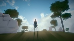 Le MMO d'exploration Worlds Adrift illustre son gameplay