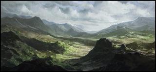 Contrées montagneuses
