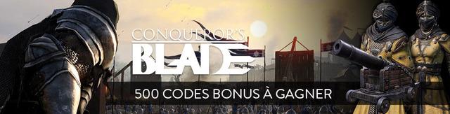 Distribution : 500 codes bonus à gagner