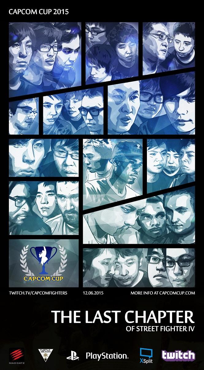 Artwork des 32 joueurs de la Capcup