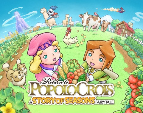 Return to PopoloCrois: A STORY OF SEASONS Fairytale - Return to PopoloCrois : le crossover avec Story of Seasons arrive en Europe