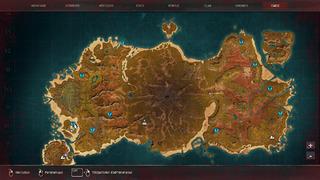 Carte île de Siptah - Conan Exiles