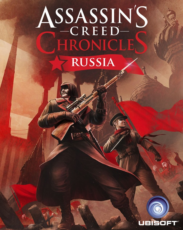 Packaging officiel d'Assassin's Creed Chronicles: Russia