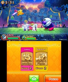 Team Kirby Clash - 2nd Boss Dr Healmore