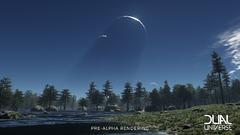Alpha Dual Universe
