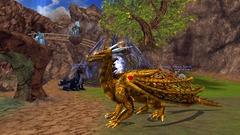 Costume Dragon Soleil d'Or