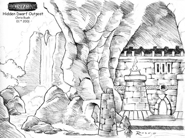 Dwarf outpost