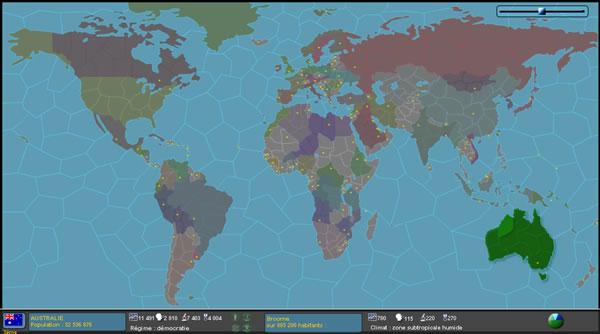 La carte du GnooWorld