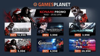 Catalogue Konami en promotion