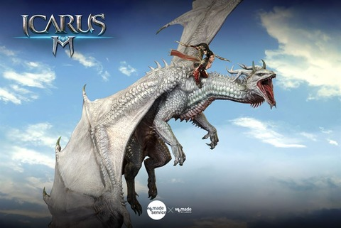 Icarus Mobile - Le MMO mobile Icarus M se lance en version internationale