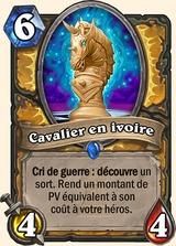 Chevalier en ivoire