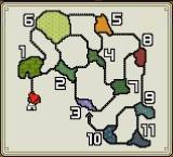 Carte de la Jungle Jurassique