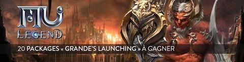 Jeu-concours : 20 packs « Grande's Launching » de MU Legend à gagner