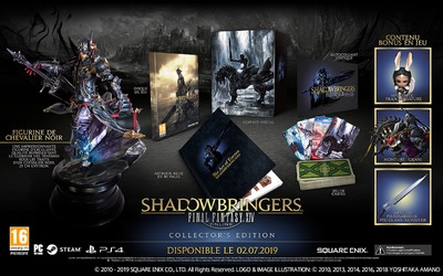 Version collector physique de Shadowbringers