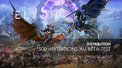 Distribution : 500 invitations à la bêta occidentale du MMORPG Elyon à gagner