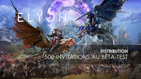 Elyon - Distribution : 500 invitations à la bêta occidentale du MMORPG Elyon à gagner