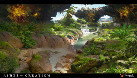Ashes of Creation - Le MMORPG Ashes of Creation comptera une vingtaine d'environnements différents au lancement