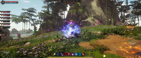 Ashes of Creation - Alpha 1 d'Ashes of Creation : raid de boss, niveau 10