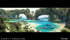 Ashes of Creation esquisse son contenu maritime