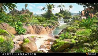 Contrée tropicale
