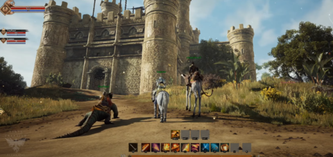 Ashes of Creation - Ashes of Creation illustre son système de combat et ses forteresses