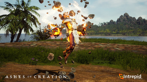 Ashes of Creation - Le MMORPG Ashes of Creation dévoile le Mage, son « maître du chaos »