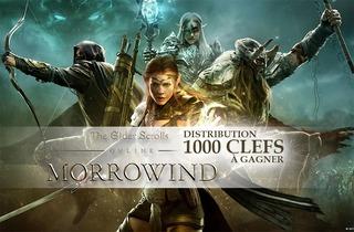 Distribution : 1000 clefs Elder Scrolls Online et Morrowind à gagner