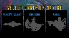Les 3 sous-marins de base