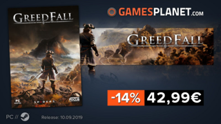 GreedFall en promotion (-14%)