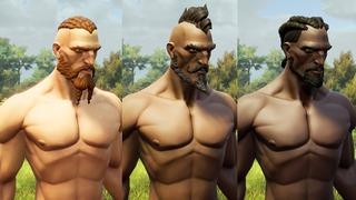 Nouveau modèle de personnages masculins de Rend