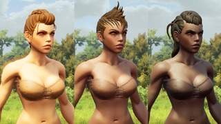 Nouveau modèle de personnages féminins de Rend