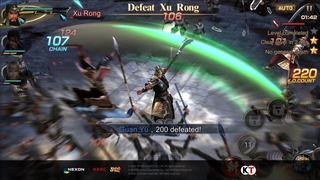 Dynasty Warriors Unleashed : lancement prévu le 30 mars