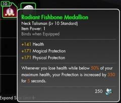 Radiant Fishbone Medallion